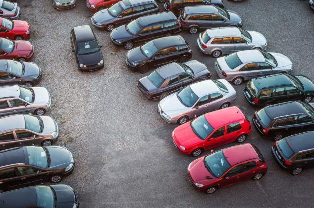Save a paint job with a good parking spot